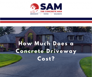 how much does a concrete driveway cost