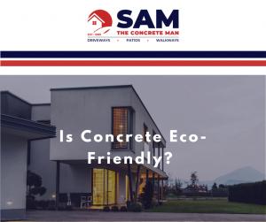is concrete eco friendly?